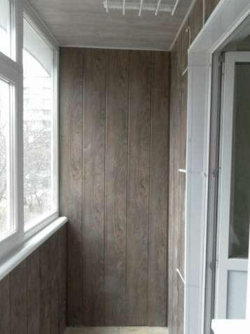 Внутренняя и наружная обшивка балкона! остекление!