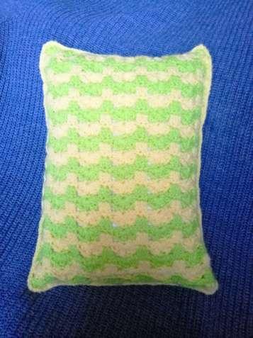 Авторская оригинальная декоративная подушка ручной работы
