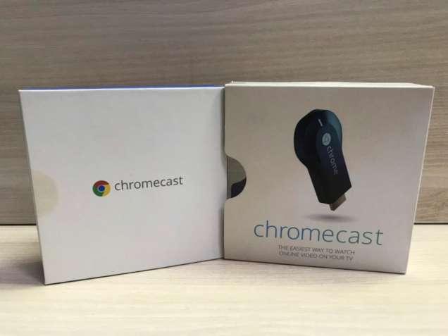 Медиаплеер Google Chromecast (ТВ приставка)