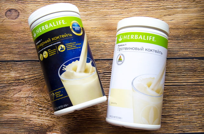 Протеїновий коктейль Herbalife Формула 1