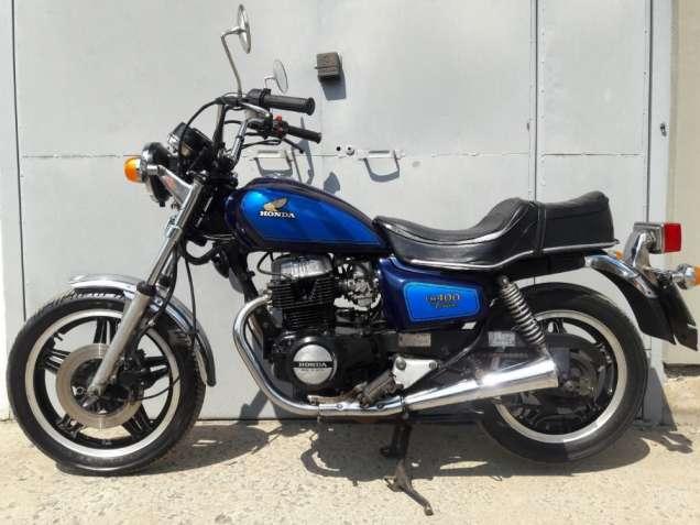 "Мотоцикл ""HONDA CM-400 Custom"""