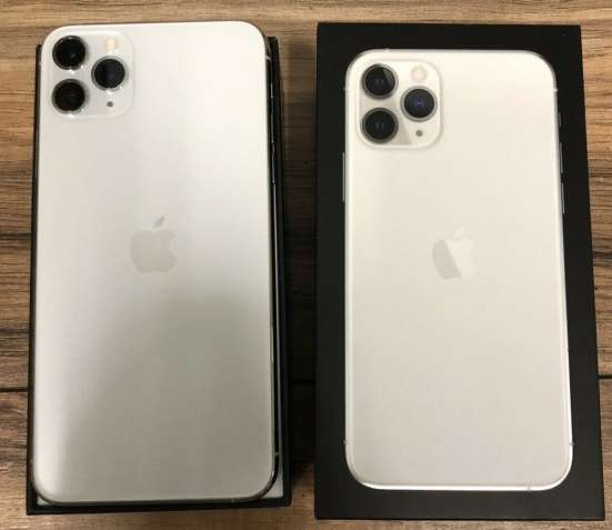 Apple iPhone 11 Pro 64GB .. $500, iPhone 11 Pro Max 64GB .. $550