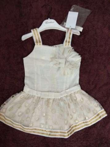 платье на 3-7 лет 24-32р Gaialuna Италия