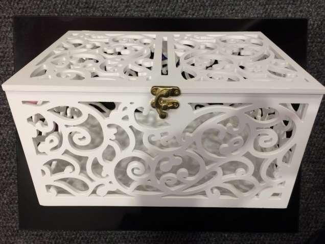 Свадебная коробка для денег + шкатулка для колец.