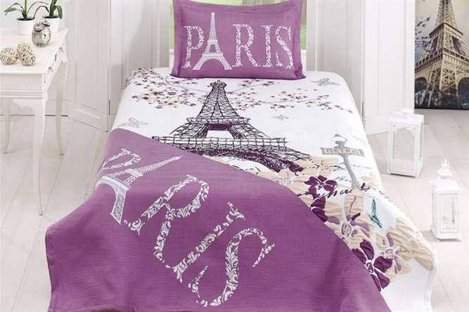 Молодежное покрывало First Сhoice Life Paris 180×240 полиэстер