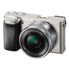 Фотоаппарат Sony Alpha A6000 kit (16-50mm) Silver