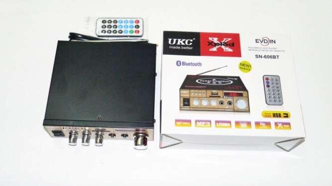 Усилитель UKC Xplod SN-606BT - Bluetooth, USB,SD,FM,MP3! 300W+300W