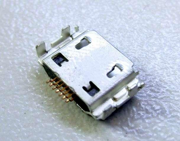 10 шт. Micro USB разъем 7 pin для Samsung