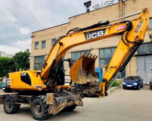 Продаем колесный экскаватор JCB JC 160W, 0,85 м3, 2012 г.в.