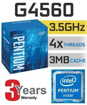 ПРОЦЕССОРЫ Intel G3930 \ G4400 \ G4560 \ G3260 . S1151\S1150
