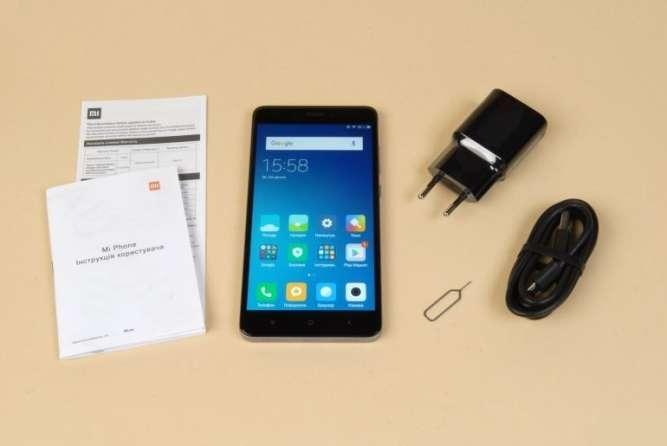 Смартфон Xiaomi Redmi Note 2 2/16GB + чехол + пленка  оригинальний - изображение 4