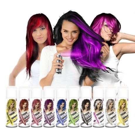 Спреи для волос на один день Цветной в баллончиках PaintGlow Купить