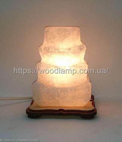 Соляной светильник Пагода маленькая, лампа, ночник