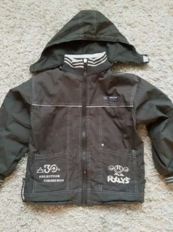 Куртка ветровка 122р ,128р для мальчика 6-7 лет