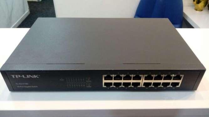 Коммутатор сетевой, свитч на 16 портов TP-LINK TL-SG1016D