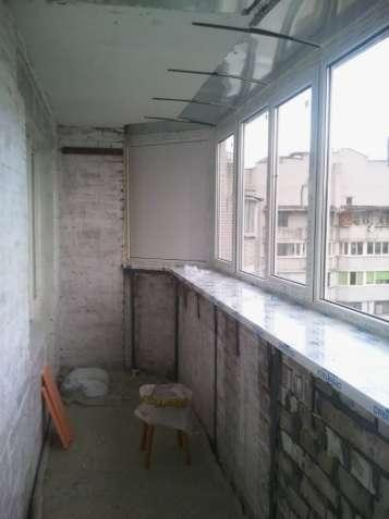 Отделка балконов под ключ. Сварка,Утепление,Обшивка,Окна,шкафы и тумбы