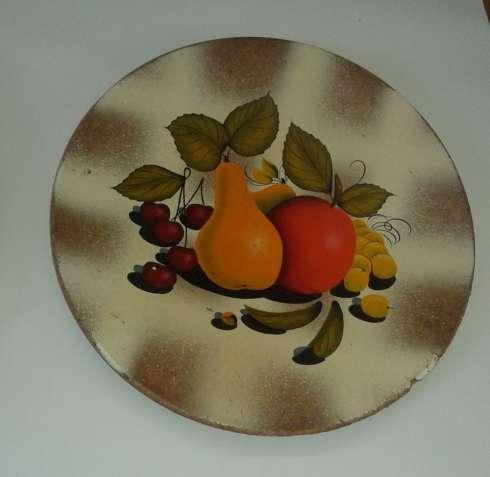 Панно тарелка 30 см. роспись художник Скрипкин