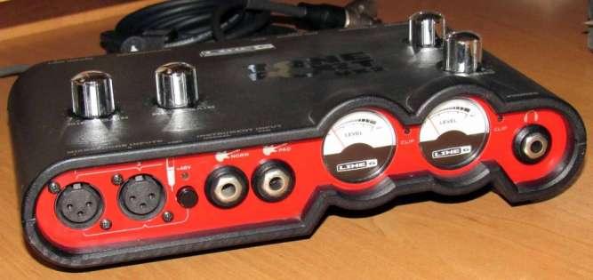 Звуковая карта Line 6 Tone Port UX2 аудио интерфейс Pod Studio