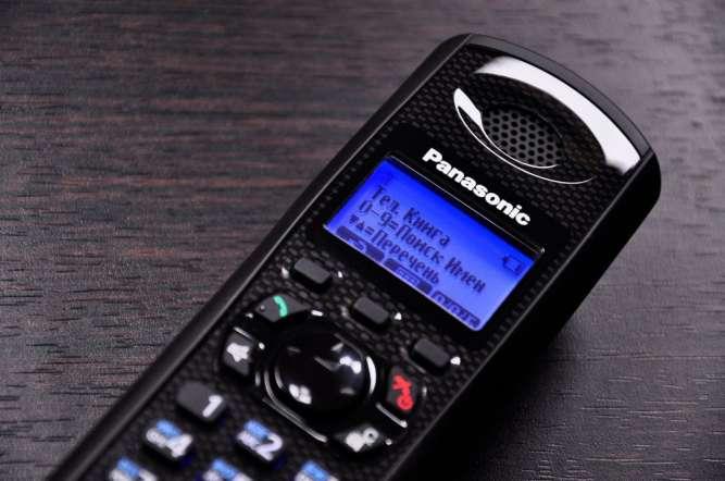 Радиотелефон Panasonic KX-TG6481UA с НОВЫМИ аккумуляторами