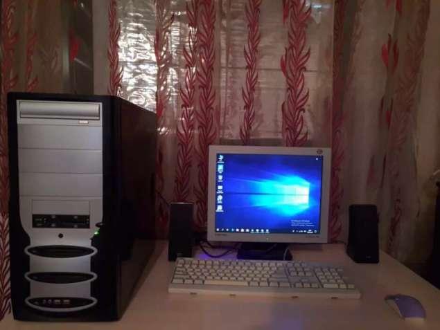 Отдам даром укомплектованый компьютер
