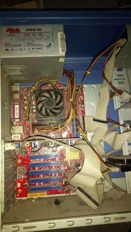 Компьютер системный блок материнская плата жесткий диск обмен