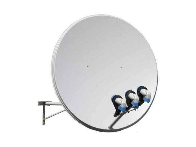 Комплект супутникового телебачення в Луцьку, Установка супутниковог тб