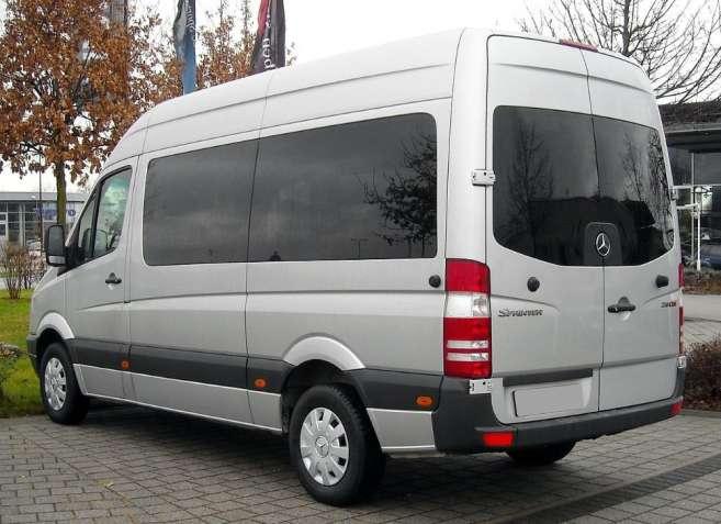 Микроавтобус возит свадьбы (Дружковка, Краматорск, Славянск)