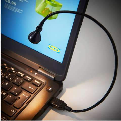USB лампа для ноутбука IKEA