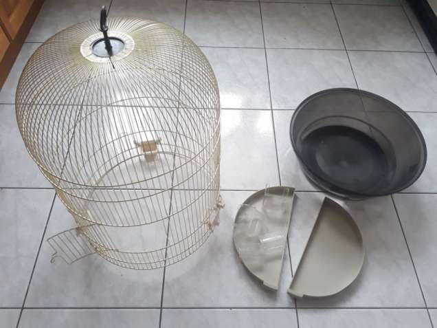 Клетка круглая для птиц