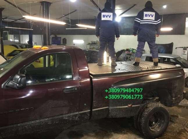Крышка кузова Додж Рам 1500 (2500, 3500). Dodge Ram крышка багажника.