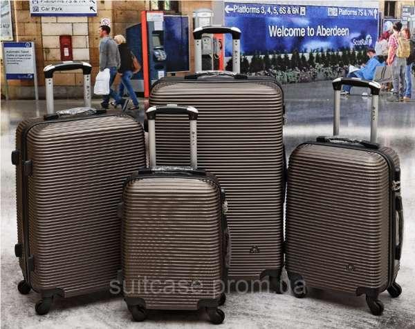 Чемоданы Fly 9124 Poland. Поликарбонат. чемодан сумки на колесах - зображення 9