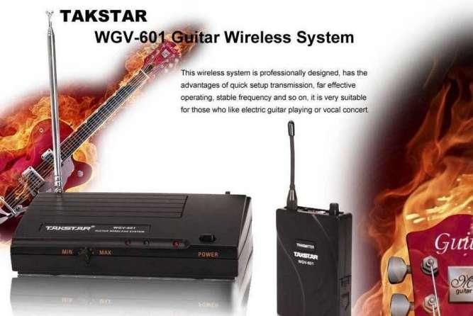 Новая Радиосистема для гитары/баса Takstar WGV-601 - Супер цена!