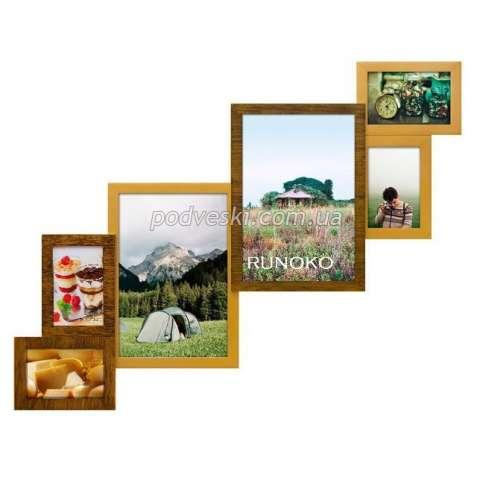 Мультирамки для дома, коллажи, деревянные фоторамки купить