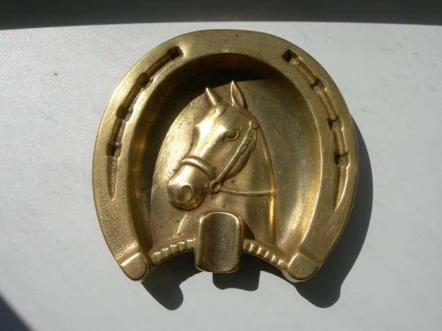 Пепельница, Подкова, бронза, массив, Германия