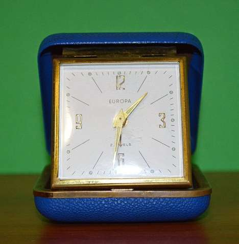 Часы-будильник EUROPA. 1960-е Germany