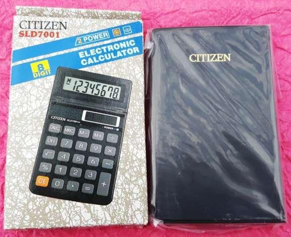 Калькулятор карманный Citizen SLD-7001