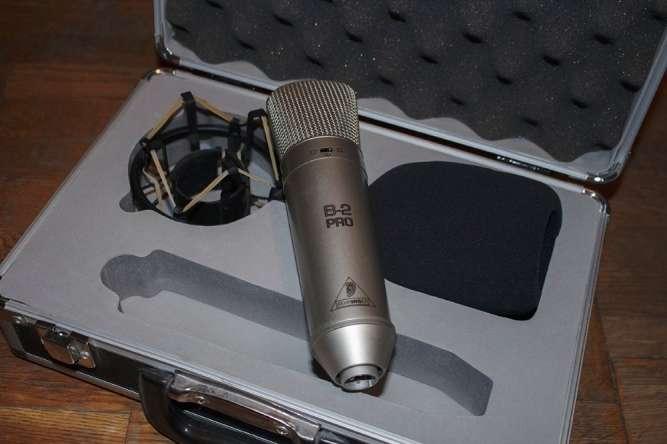 Студийный микрофон Behringer B2-Pro