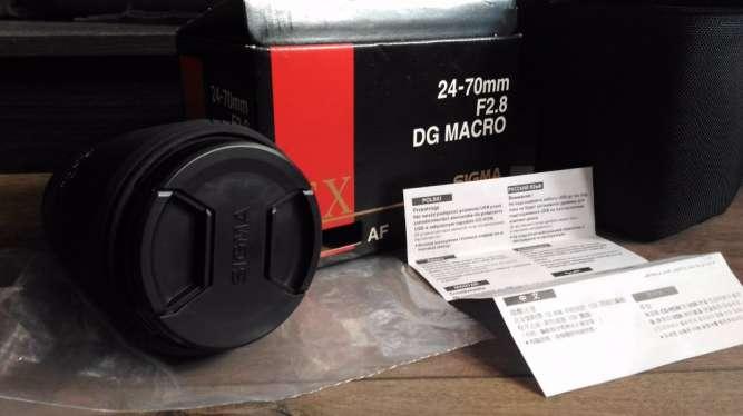 Объектив 24-70mm F2.8 , Canon