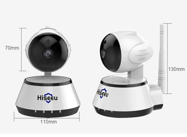 IP Камера видеонаблюдения Hiseeu FH2A 32Гб