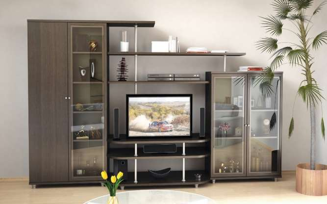 Гостиная стенка Рио-4. Мебель со склада по оптовым ценам