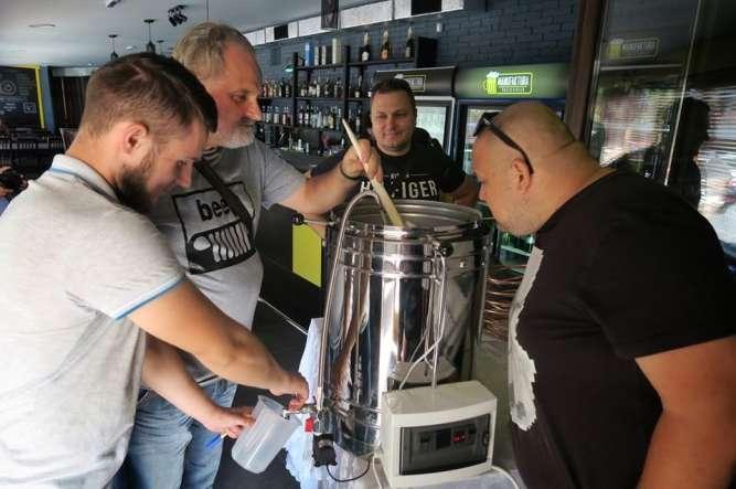 Домашня пивоварня з програмним керув., 34 літра(готового пива)/варка