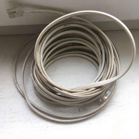 Телефонный кабель, 5м