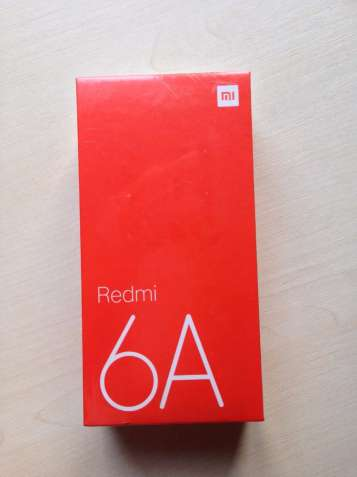 Смартфон Xiaomi Redmi 6A 2/16 Blue Global Version синий