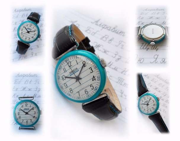 МЕЧТА ШКОЛЬНИКА 70-х. «УШАСТАЯ-Ракета» часы из ссср, мужские, механика