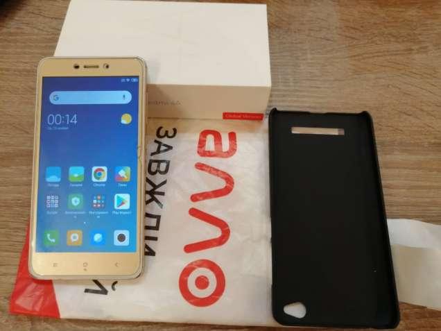 Смартфон Xiaomi Redmi 4a 2/16GB Gold Global Version