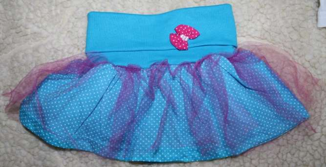 Маечка Минни юбка с фатином