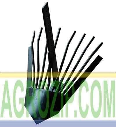 Картофелекопалка для мотоблока КК-4 усиленная