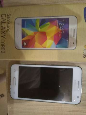 Продам смартфон Samsung Galaxy Core 2 (SM-G355H) белый