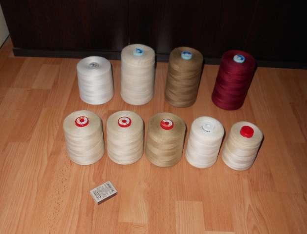 Нитки для вязания салфеток, скатертей и даже для пахлавы. Разные цвета