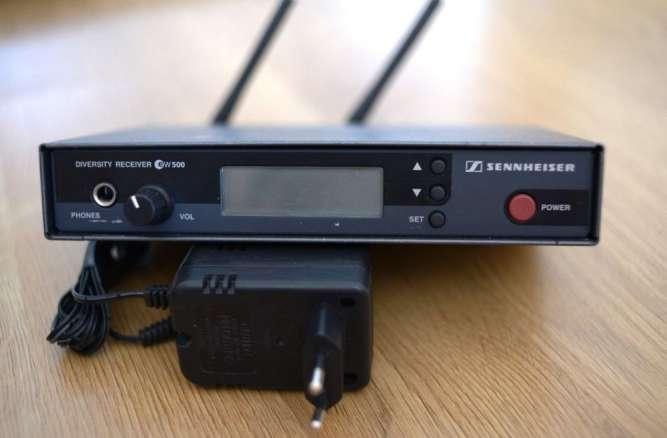 Приемник Sennheiser EW-500 D (786-822) база радиосистема радиомикрофон